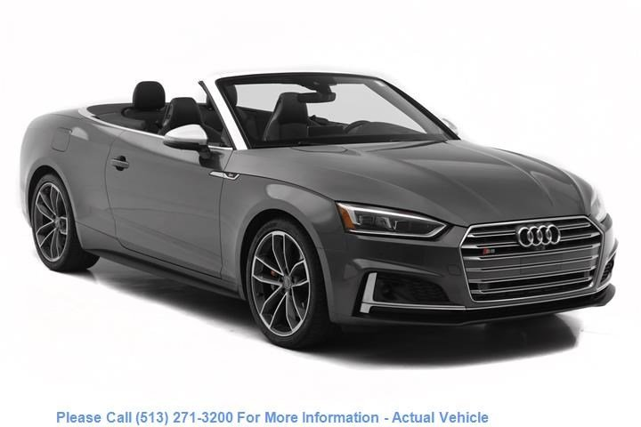 Pre-Owned 2018 Audi S5 Cabriolet Prestige